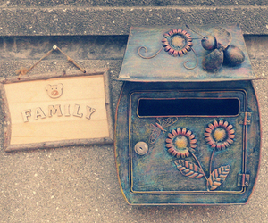 family, vintage, and flowers image