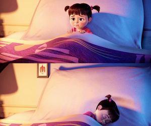 boo, sleep, and disney image