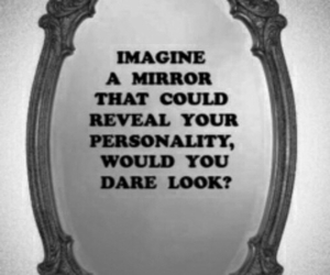personality and mirror image