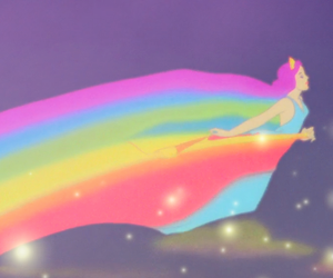 disney, fantasia, and rainbow image