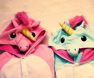 unicorn, pink, and blue image