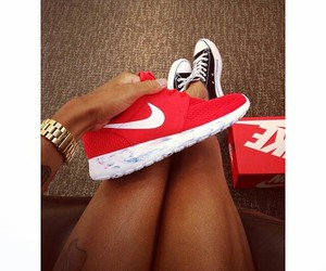 red and sneakers image
