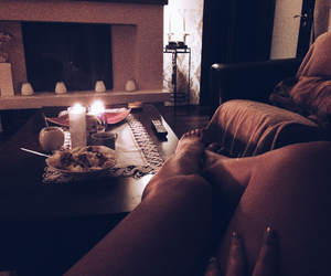 candles, home, and legs image