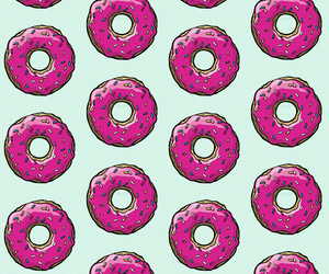 cool, donuts, and pink image