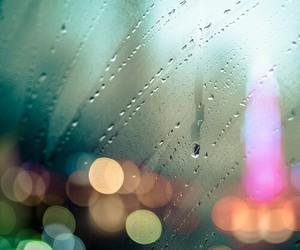 light, rain, and photography image