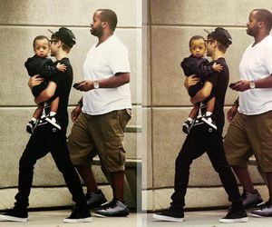 kid, justin bieber, and kenny hamilton image
