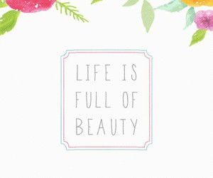 life, beauty, and wallpaper image