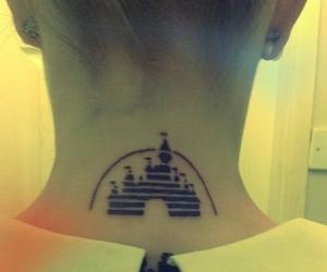 disney, tattoo, and neck image