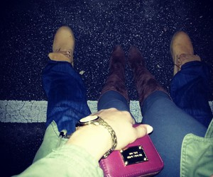 onelove, timberlands, and saturday evening image