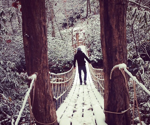 snow, paul wesley, and winter image