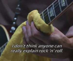 rock n roll, almost famous, and guitar image