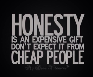 quote, honesty, and people image
