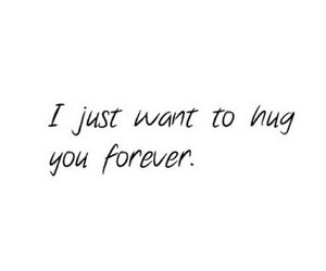 hug, forever, and love image
