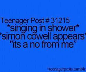 funny, simon cowell, and lol image