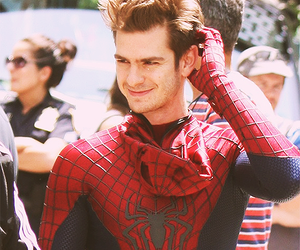 andrew garfield and spiderman image