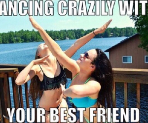 bff, dancing, and friends image
