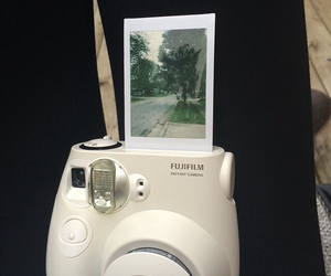 polaroids, white, and fujiflim image