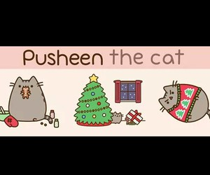 cat, christmas, and cute pet image