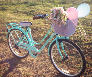 bike, chic, and mint image