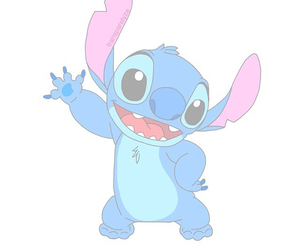 stitch, blue, and transparent image