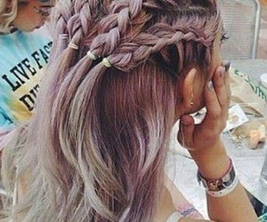 hair, hipster, and style image