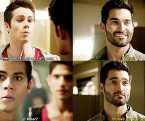 tyler hoechlin, dylan o'brien, and derek hale image