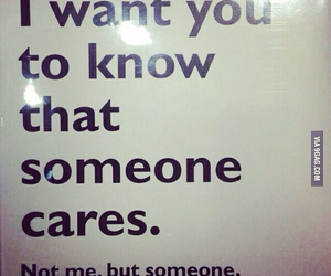 care, someone, and love image