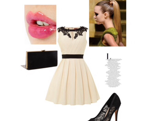 dress, formal, and Polyvore image