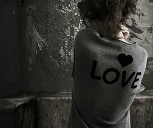 love and girl image