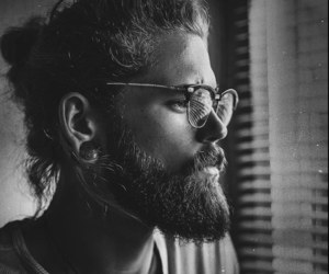 beard, boy, and Hot image