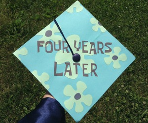 spongebob, funny, and graduation image