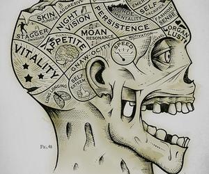 brain, zombie, and art image