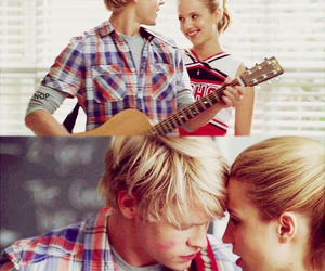 glee and quinn fabray image
