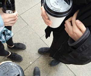 coffee, grunge, and pale image