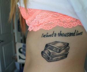 book, tattoo, and tumblr image