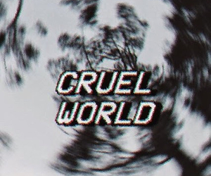 cruel, world, and grunge image