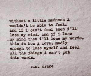 r.m. drake and quote image