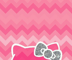hello kitty, pink, and wallpaper image