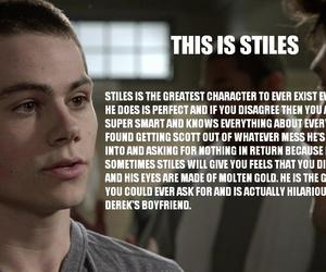 stiles, teen wolf, and dylan o'brien image