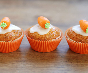 cupcake, cute, and carrot image