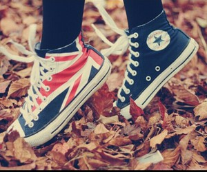 converse, shoes, and england image