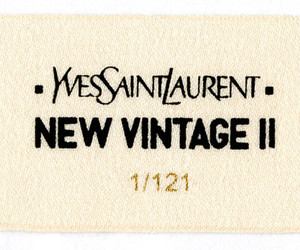 YSL and vintage image