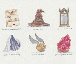 harry potter, hp, and hogwarts image