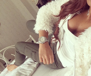 bed, fashion, and hairstyle image