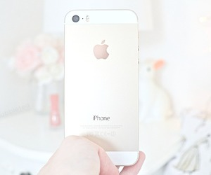 iphone, girly, and gold image