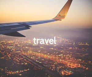 airplane, country, and travel image