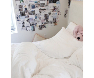 bedroom, bed, and tumblr image