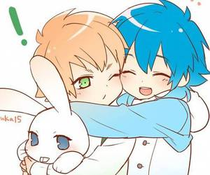 dramatical murder, noiz, and aoba image
