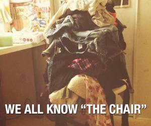 chair, clothes, and girls image