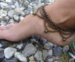 etsy, handmade jewelry, and macrame anklet image